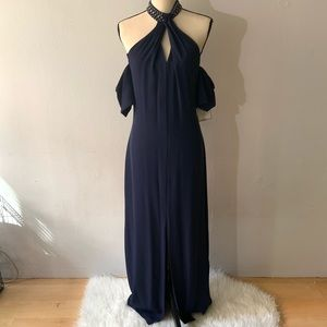 NWT - Dark Blue Dress Gown